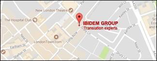 Ibidem Group. Agence de Traduction. Bureaux à Londres, Royaume-Uni.